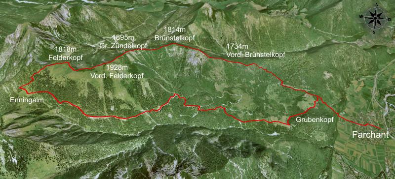 topographische karte alpen digital